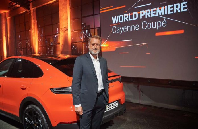 Cayenne Coupé – an athletic sports car...
