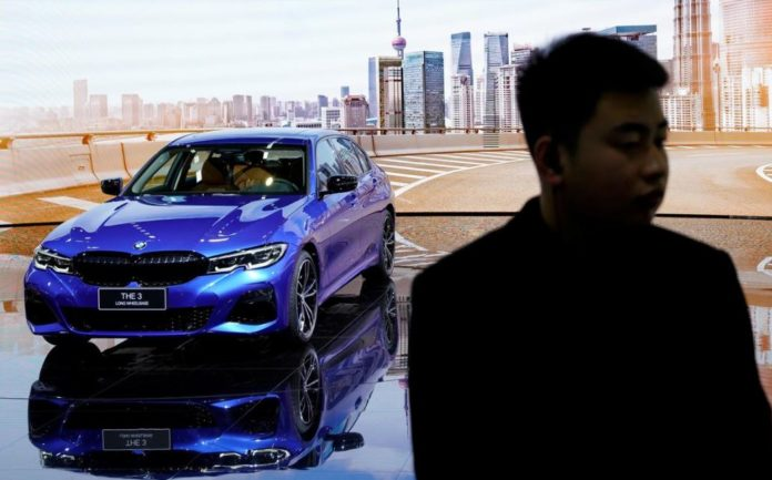 BMW affirms target to hike sales as China drives May deliveries